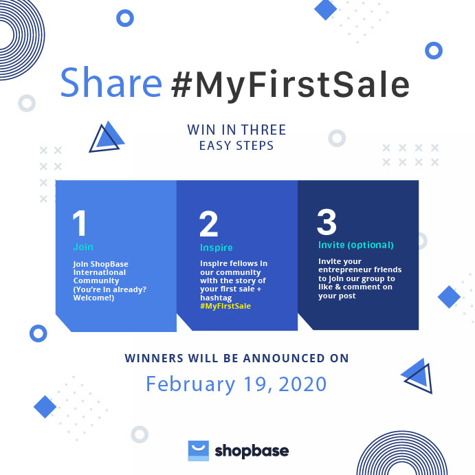 shopbase first sale contest
