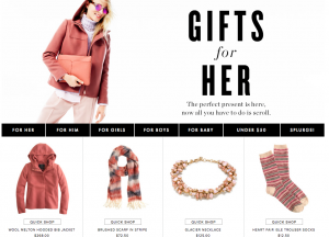 gift ideas to boost holiday conversion rate