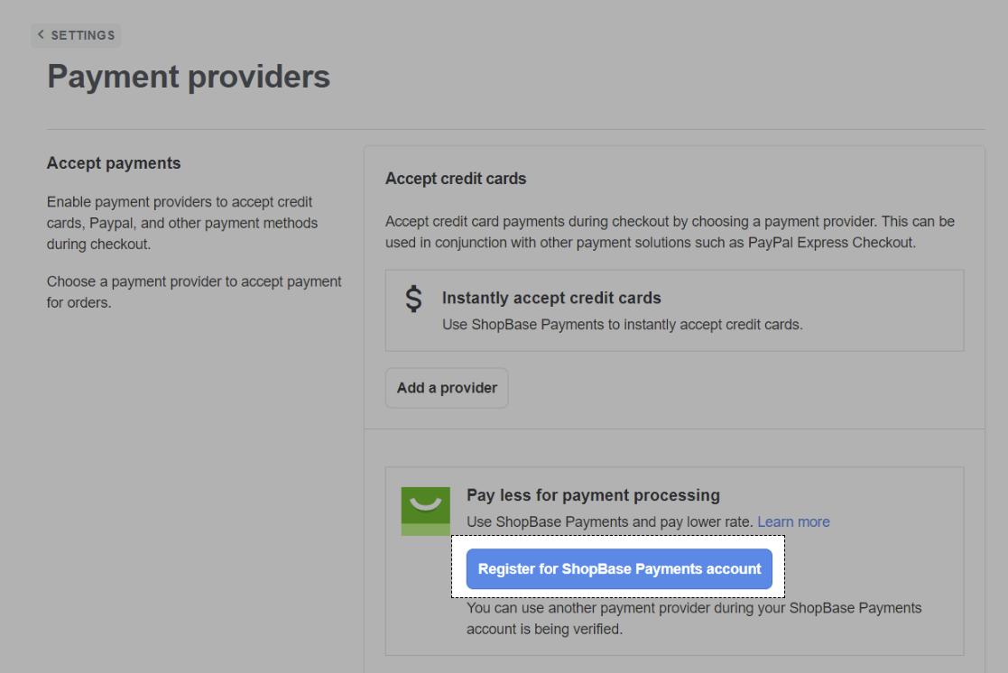 Cách đăng ký ShopeBase Payment trên PrintBase