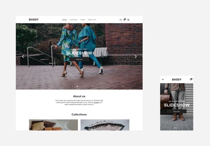 Bassy theme of ShopBase saves your time and creates an elegant and eye-catching look for your dropshipping store