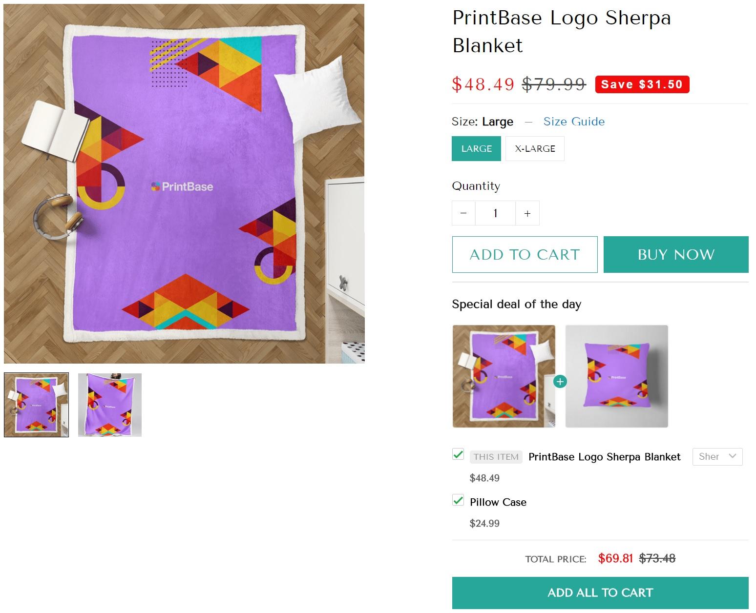 Sherpa Blanket Selling Guide 12