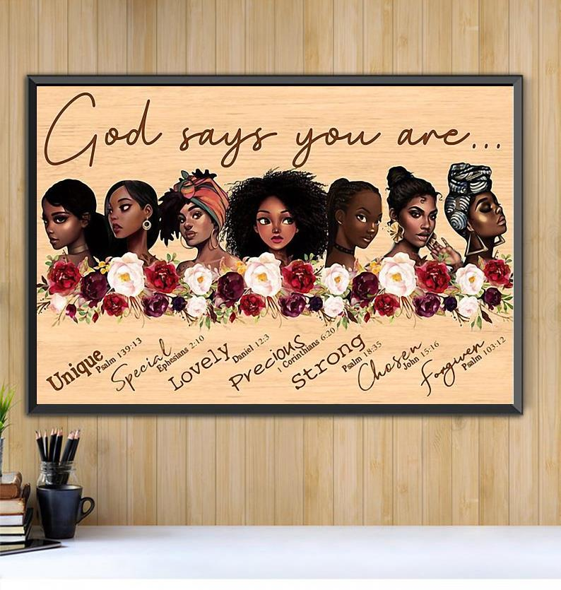 Colored women appreciation artwork