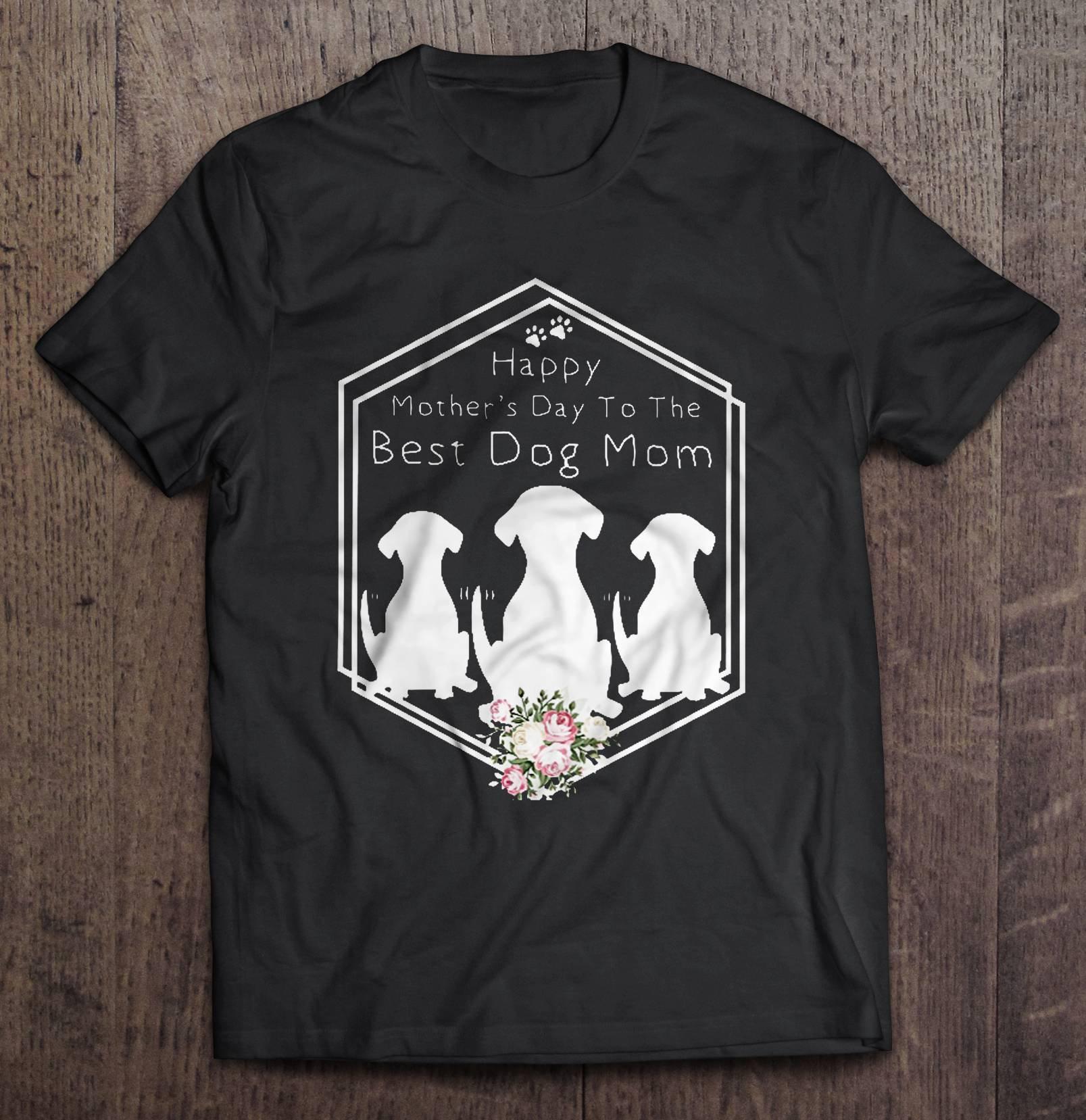 A special design on Mother's Day for women having dogs