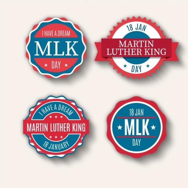 Sticker samples for MLK Day