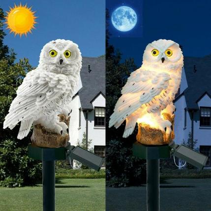 猫头鹰户外灯