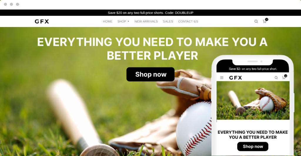 Google Shopping ads for dropshipping Niche baseball gear