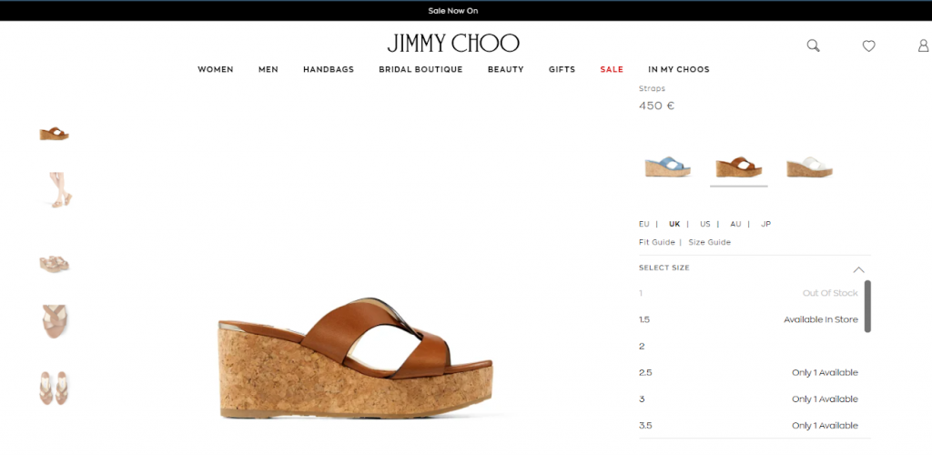 Jimmy Choo sandals for woman