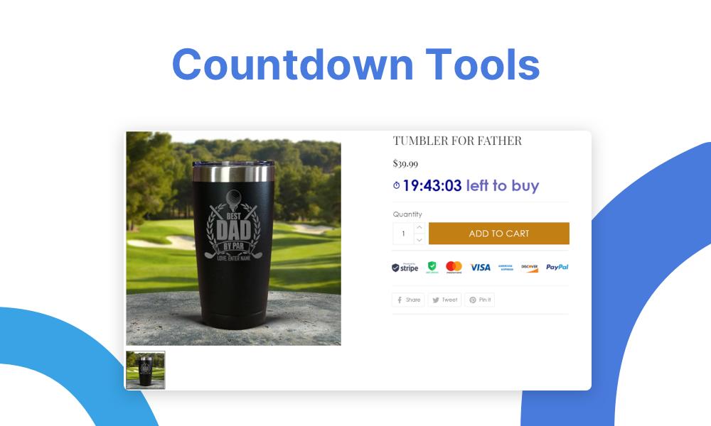 Countdown tools - 2