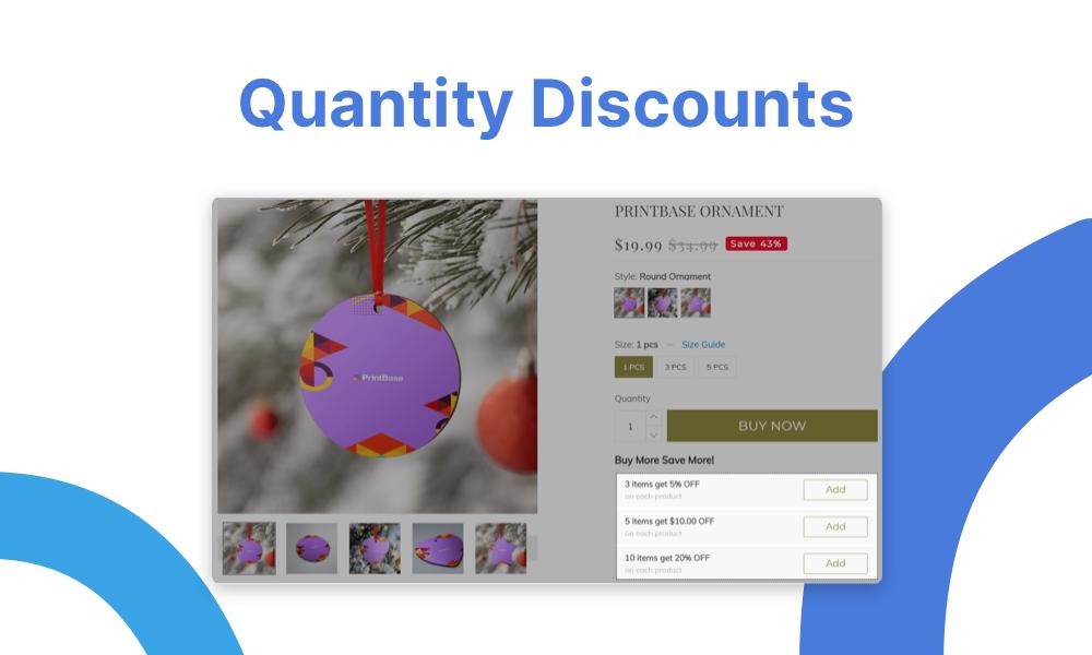 Quantity Discounts - 2