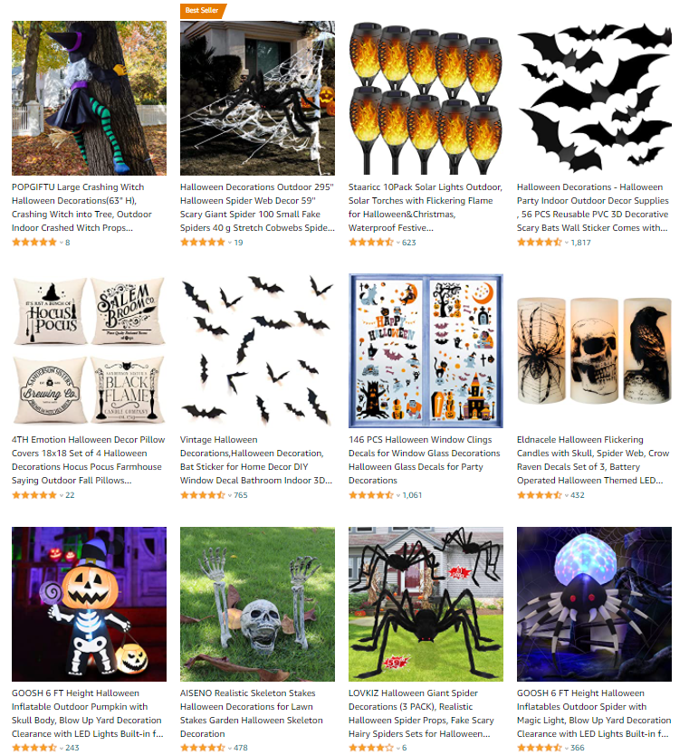 halloween dropshipping decorations