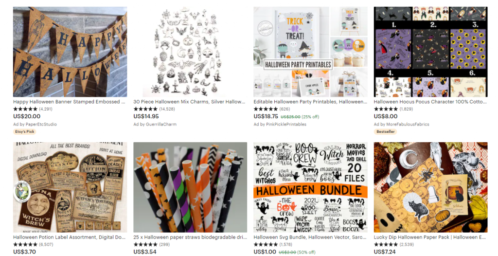 halloween dropshipping party supplies
