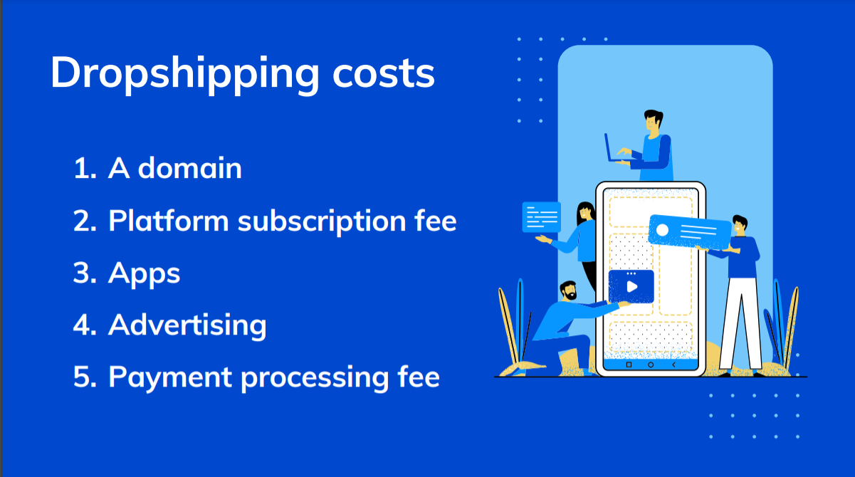 Dropshipping costs